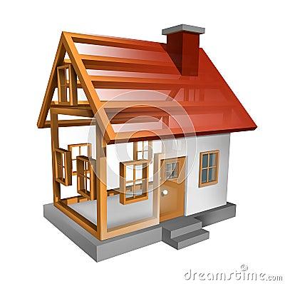 σπίτι οικοδόμησης
