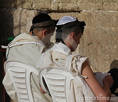 西部耶路撒冷的哭墙 编辑类库存照片