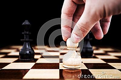 κίνηση σκακιού
