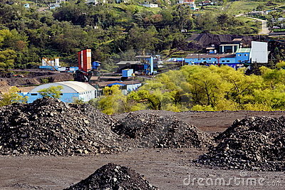 煤矿 编辑类照片