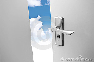 небо двери