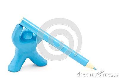 玩偶暂挂铅笔