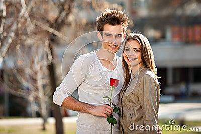 ρομαντικές νεολαίες εραστών