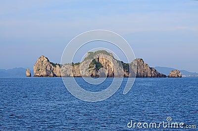 θάλασσα φωλιών νησιών πουλιών