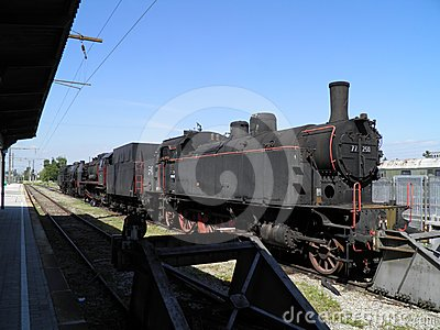 蒸汽引擎机车