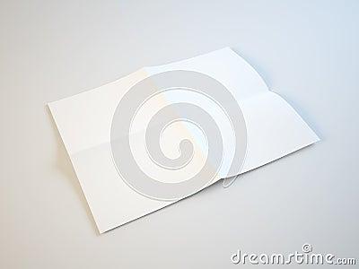 折叠的纸张