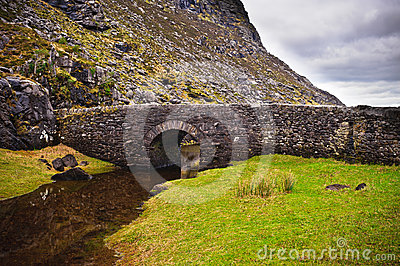 桥梁爱尔兰石头