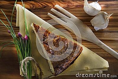 посоленный рис торта