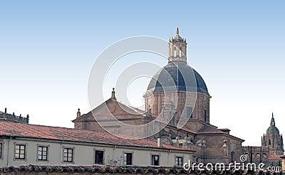 大教堂覆以圆顶萨拉曼卡