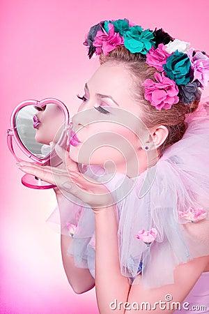 поцелуй романтичный