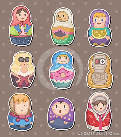 стикеры русского шаржа
