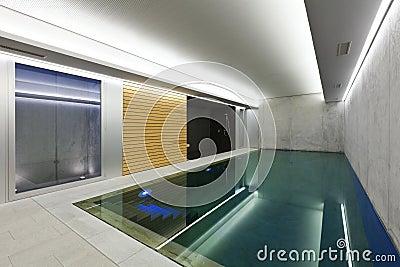 室内游泳池蒸汽浴