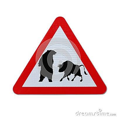 бык медведя против
