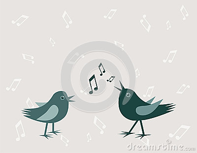 πουλιά δύο