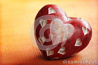камень сердца