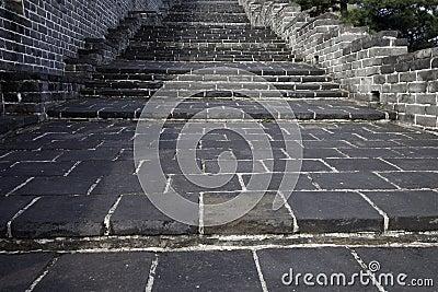 большая стена шагов