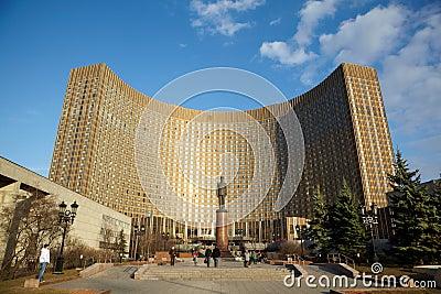 гостиница космоса Редакционное Фото