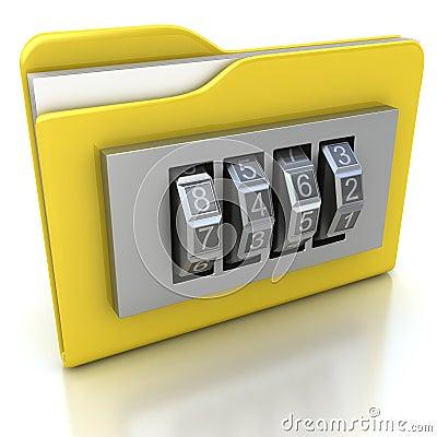 拨号文件夹图标锁定安全