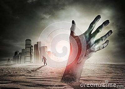 поднимая зомби