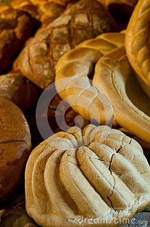 自创的面包