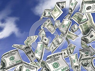 доллары дождя