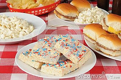 Еда пикника