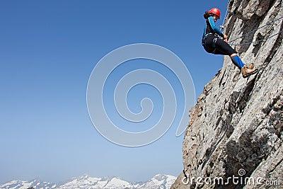 Альпинист женщины