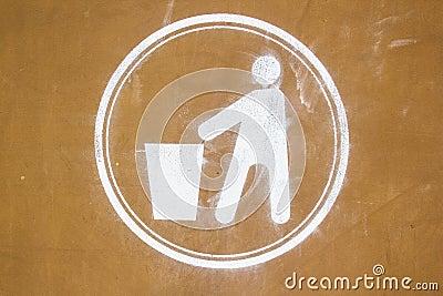 坏的回收的符号
