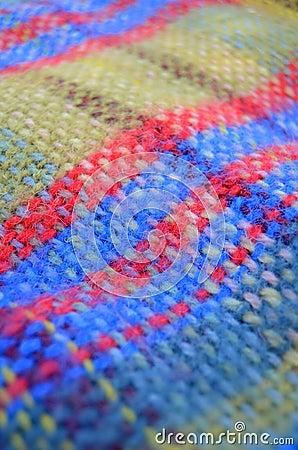 被编织的毯子