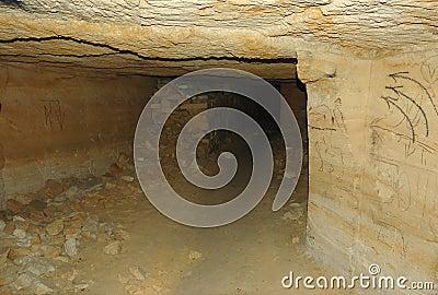 在世界,傲德萨,乌克兰的最长的地下墓穴网络