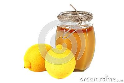 蜂蜜和柠檬