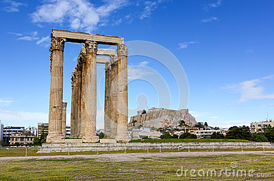 奥林山宙斯,雅典,希腊寺庙