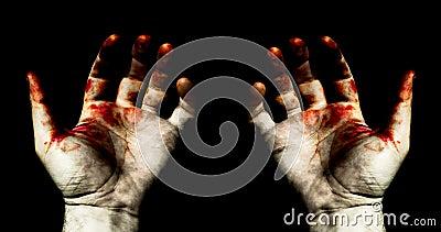 χέρια αίματος