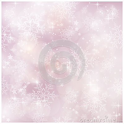 虚拟和模糊的冬天,圣诞节模式