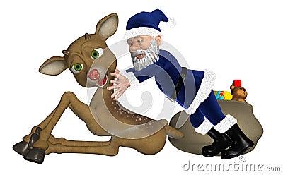 Санта/рождество отца