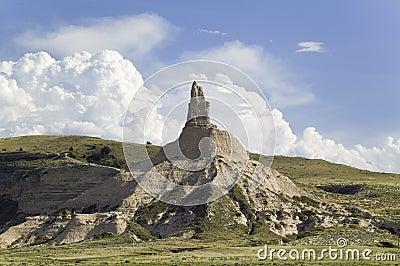 烟囱岩石全国古迹,