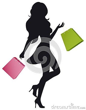 Девушка магазина
