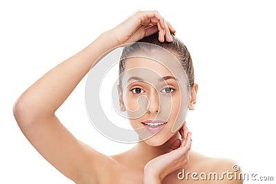 皮肤和秀丽关心