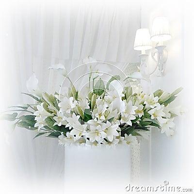 Цветки лилии