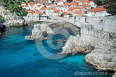 Городок Дубровник старый