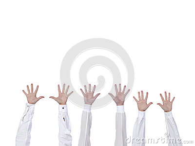 Поднятые руки