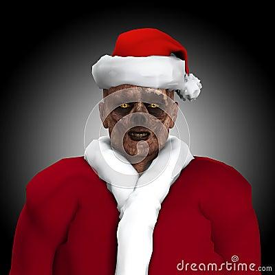 僵死圣诞老人