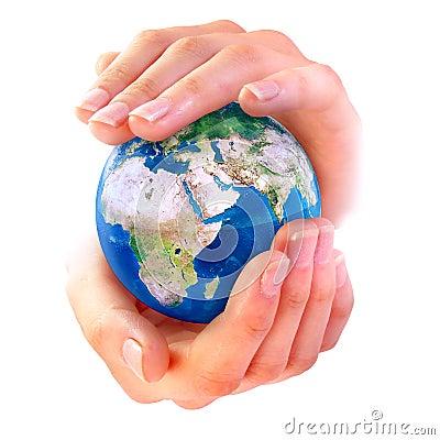 γήινα χέρια