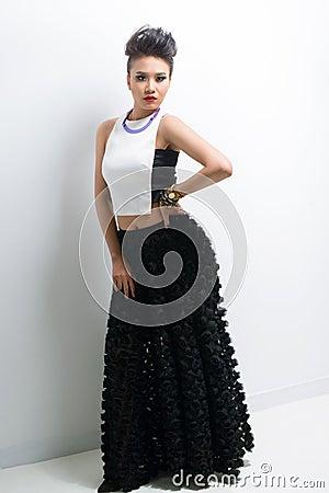 Макси платье