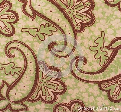 Флористическая ткань