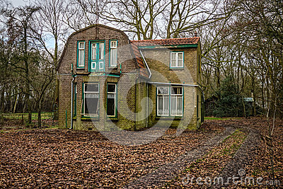 Εγκαταλειμμένο ολλανδικό σπίτι