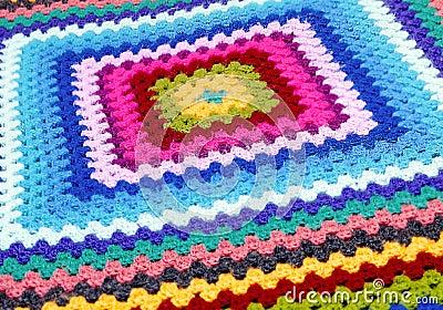 被绣的毯子
