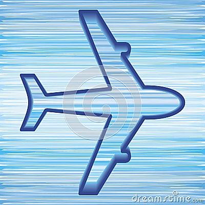 飞机符号 图库摄影 - 图片