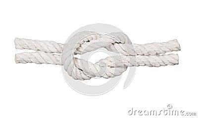 与结的绳索,