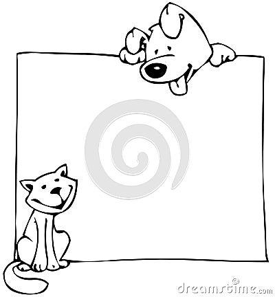 αφίσα σκυλιών γατών